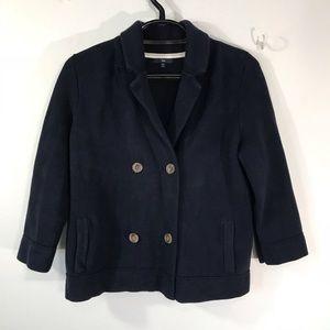 Gap women's heavy knit cotton blazer, XL